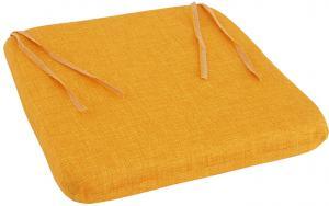 B.E.S. - Petrovice, s.r.o. Sedák 40 x 40 cm se šňůrkami - Žlutý
