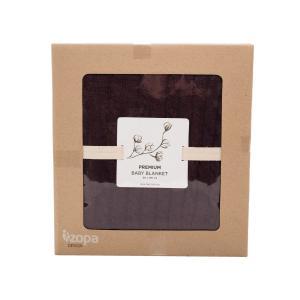 BA Detská bavlnená deka Premium Farba: Dark Bordeaux