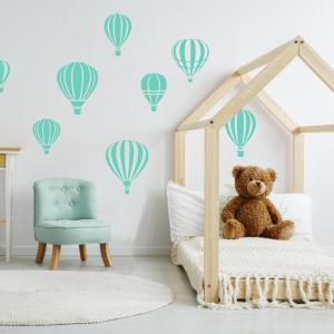 Balóny - nálepky pre deti
