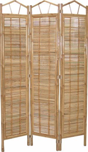 bambusový paraván - naturál