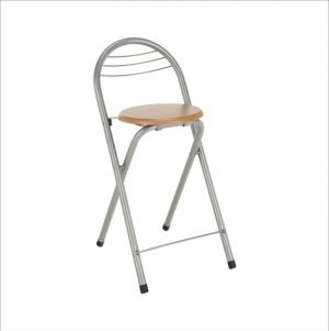 Barová stolička buk/chróm BOXER