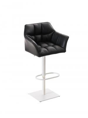 Barová stolička s bielou podnožou Sofi
