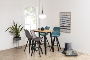 Barový stôl Nadida 117 cm dyhové dosky