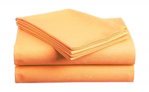 Bavlnená plachta marhuľová 140x240 cm Gramáž: Standard (130 g/m2)