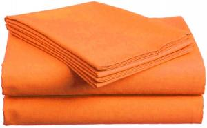 Bavlnená plachta oranžová 140x240 cm