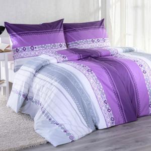 Bavlnené posteľné obliečky BRIGITA štandardná dĺžka