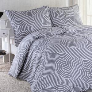 Bavlnené posteľné obliečky GEOMETRY štandardná dĺžka