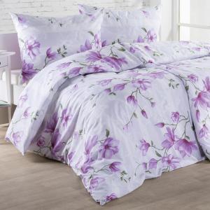 Bavlnené posteľné obliečky MAGDALENA fuchsiová predĺžená dĺžka