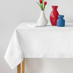 Bavlnený obrus biely Gramáž: 150 g/m2, Rozmer: 100 x 100 cm