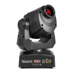 Beamz Professional IGNITE60 LED Spot Moving Head 60W-LED DMX alebo stand-alone
