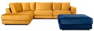 BEFAME Rio Comfort Set 5 rohová sedačka ľavá + taburet