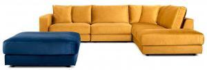 BEFAME Rio Comfort Set 5 rohová sedačka pravá + taburet