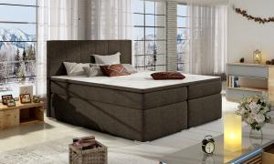 BELARO 04 manželská posteľ, sawanna 26