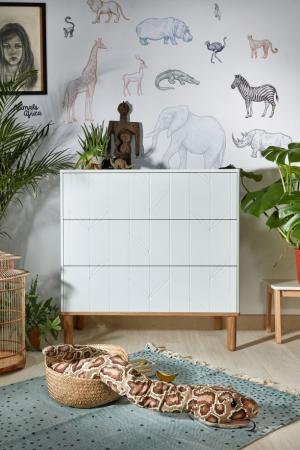 Bellamy Komoda Toteme botanic - s 3 zásuvkami