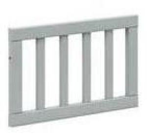 BELLAMY Lotta detská zábrana do postele, matná šedá/drevo