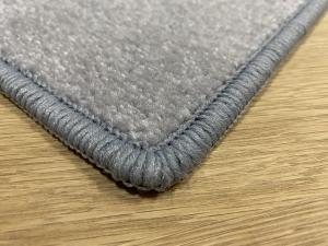 Betap koberce Běhoun na míru Eton 2019-73 šedý - šíře 80 cm s obšitím
