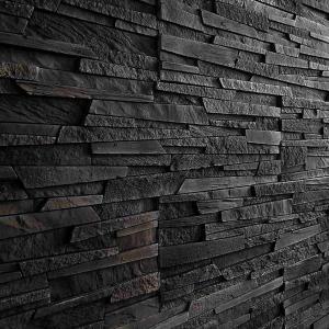 Betónový Obkladový Kameň Strato Black