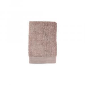 Béžová bavlnená osuška Zone Classic Nude, 70 × 140 cm