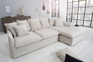 Béžová sedačka Eck-Sofa Heaven »