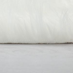 Béžový koberec Flair Rugs Sheepskin, ⌀ 120 cm