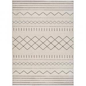 Béžový koberec Universal Akka Geo, 60 x 120 cm