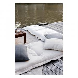 Béžový variabilný futón vhodný do exteriéru Karup Design OUT™ Sit&Sleep Beige