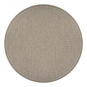 Béžový vonkajší koberec Floorita Tatami, ø 200 cm