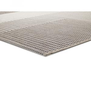Béžový vonkajší koberec Universal Cork Squares, 115 x 170 cm