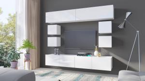 Biela stena do obývacej izby Gemini