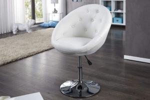 Biele kreslo Couture 85-100 cm »