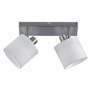 Biele stropné svietidlo pre 2 žiarovky Trio Spot Tommy