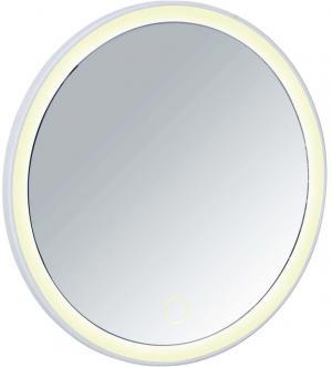 Biele zrkadlo s LED osvietením Wenko Isola
