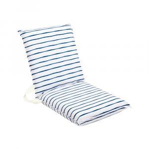 Bielo-modrý záhradný sedák Sunnylife Nouveau Bleu