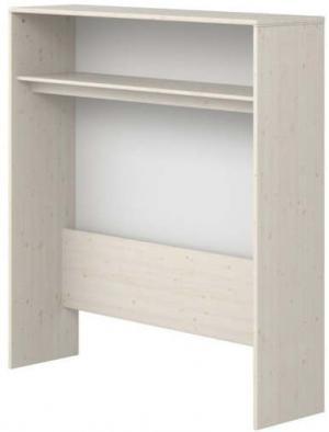 Biely detský policový diel z borovicového dreva Flexa Classic, výška 135,5 cm