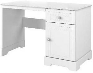 Biely detský pracovný stôl so zásuvkami BELLAMY Marylou