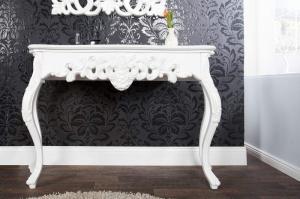 Biely toaletný stolík Venice 35 x 110 cm »