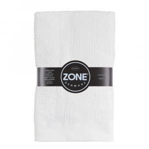Biely bavlnený uterák Zone Classic, 50 × 100 cm
