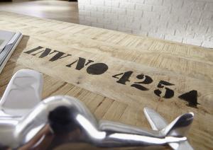 FABRICA Konferenčný stolík s poličkou 140x80 cm, mango