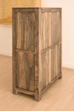 GREY WOOD Príborník 148x90 cm, palisander