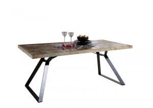 Bighome - INDUSTRY Jedálenský stôl 180x90 cm, staré drevo