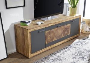 JANOV TV stolík 180x46 cm, palisander, hnedá