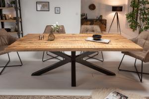 Bighome - Jedálenský stôl UNIVERSE 200 cm - prírodná, mango