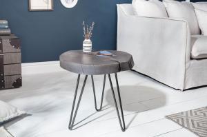 Konferenčný stolík GOALA 43 cm - šedá