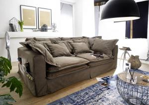 Bighome - NEWPORT sedačka, hnedá