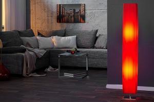 Stojaca lampa ORION 120cm - červená