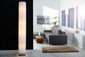 Bighome - Stojaca lampa TUCANA - biela