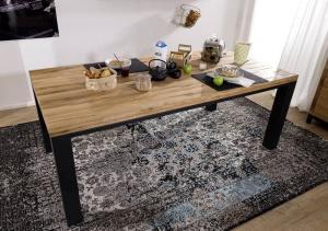 Bighome - TIROL Jedálenský stôl 240x100 cm, prírodná, dub