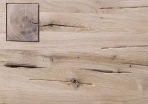 TIROL Lavica 200x35 cm, svetlohnedá, dub
