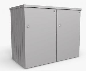 Biohort Box na odpadkový kôš BIOHORT Alex 2 (strieborná metalíza)