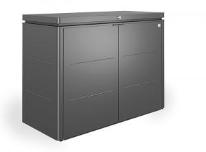 Biohort Multiúčelový úložný box HighBoard 160 x 70 x 118 (tmavo sivá metalíza) 160 cm (3 krabice)